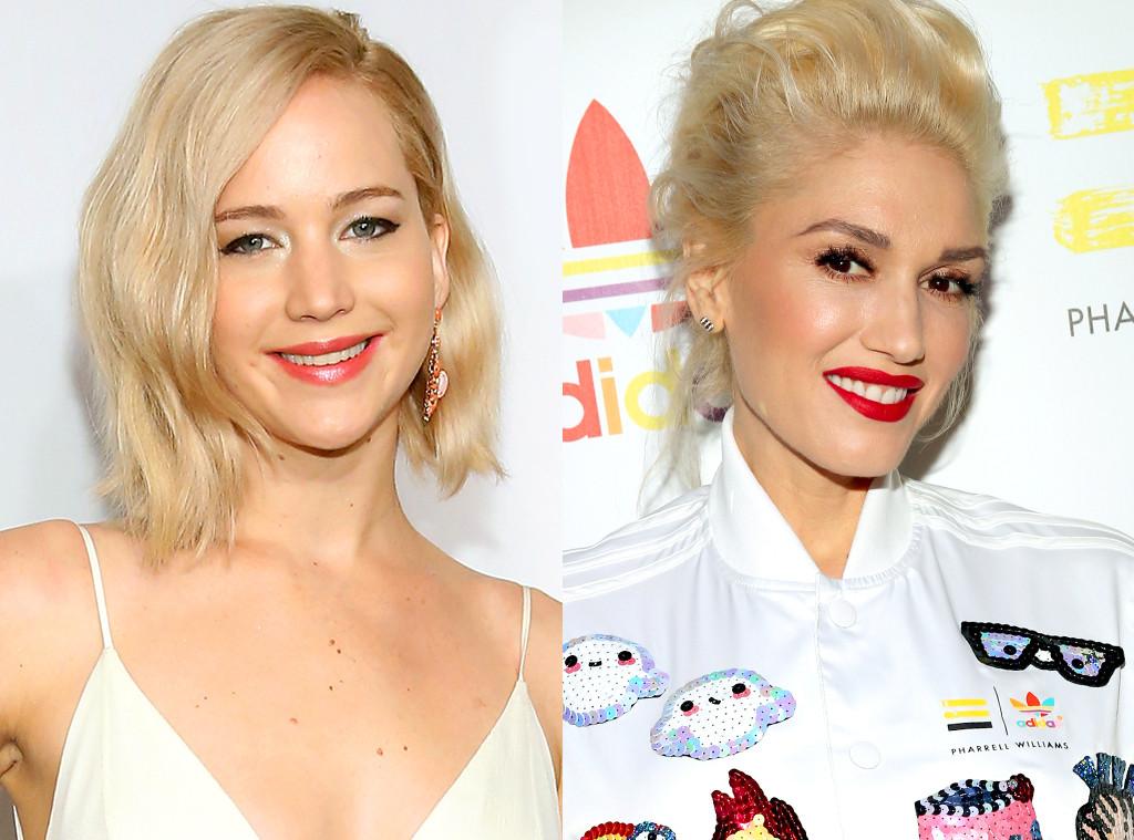 Jennifer Lawrence, Gwen Stefani