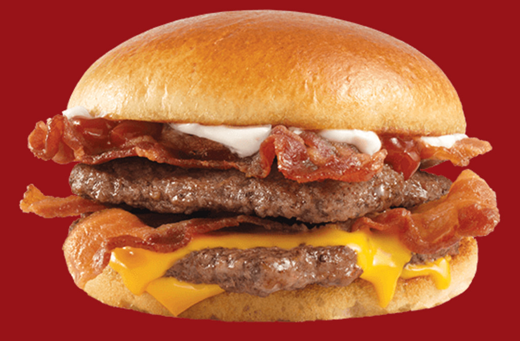 Wendys Son of a Baconater Burger, Fieri or Fast food