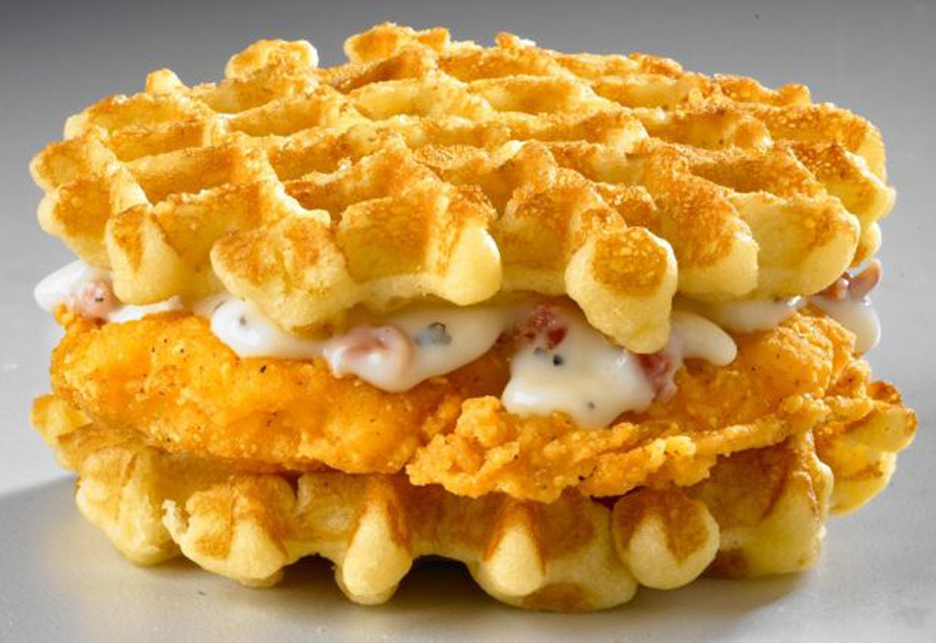 White Castle Chicken and Waffle Slider, Fieri or Fast food