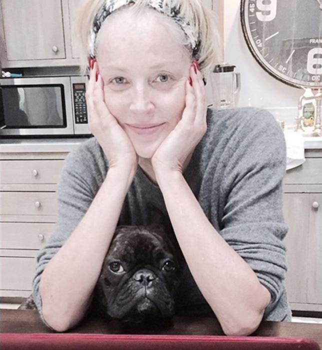 Sharon Stone, No Makeup, Instagram