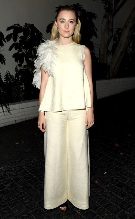 Saoirse Ronan, W Magazine, Golden Globes Party Pics