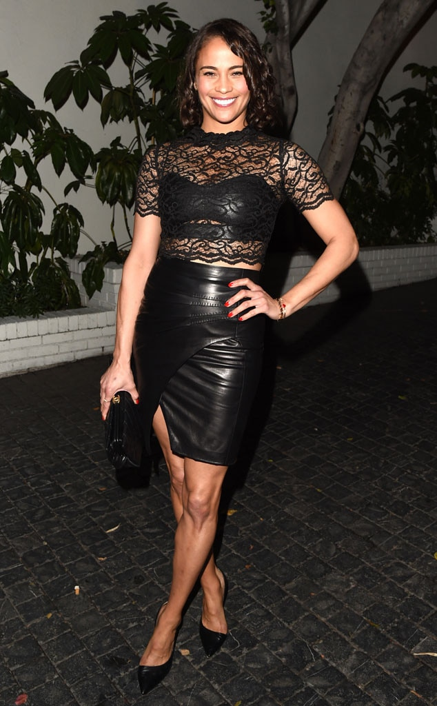 Paula Patton, W Magazine, Golden Globes Party Pics