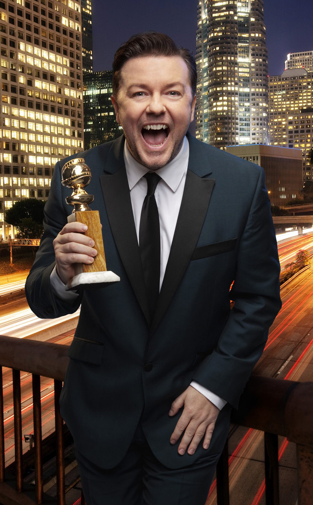 Ricky Gervais, Golden Globes, Memorable Moments, 2010
