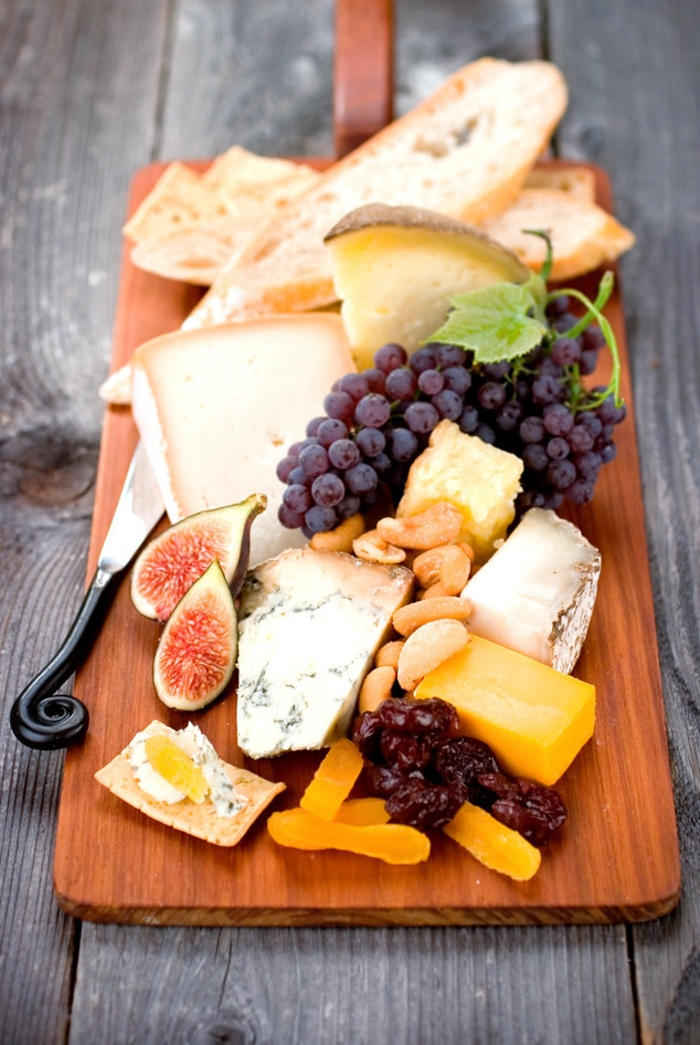 Fruit and Cheese Plate, Fieri or Fast food