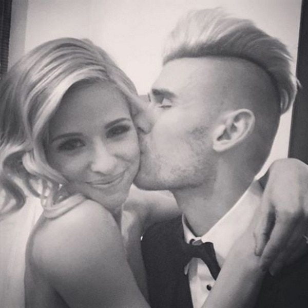 Colton Dixon, Annie Coggeshall, Wedding Photo