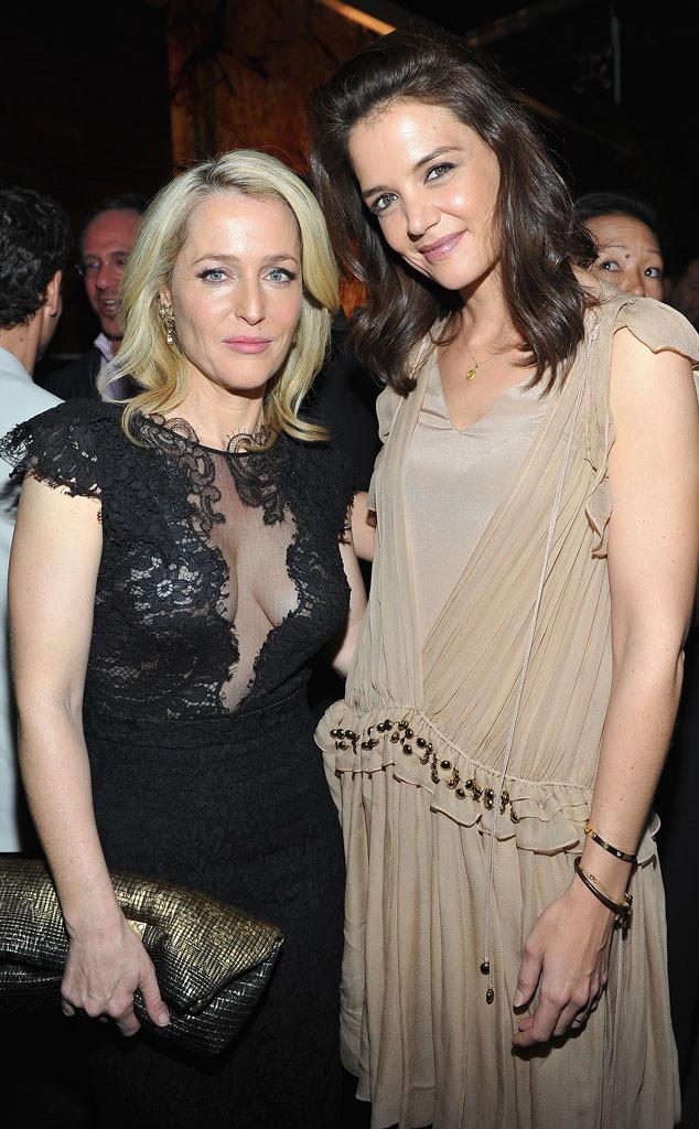 Katie Holmes, Gillian Anderson