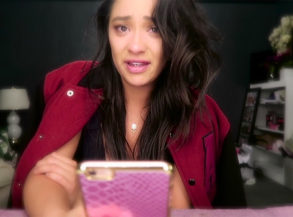 Shay mitchell releases emotional farewell video to pretty little liars