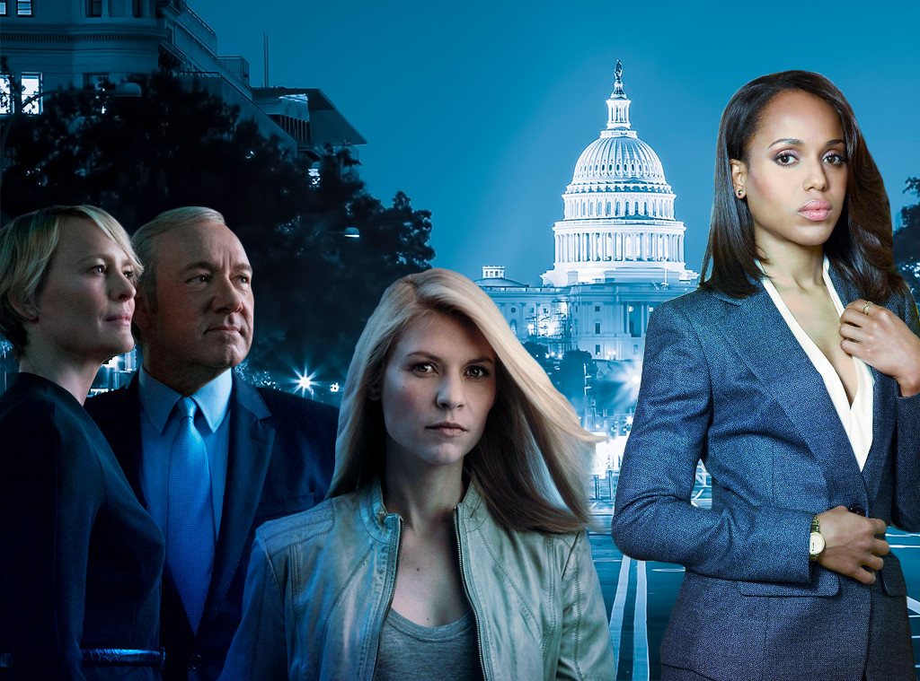 Political TV Shows, House of Cards, Homeland, Scandal