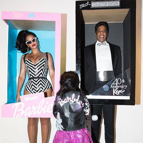 Beyonce, Jay Z, Blue Ivy, Halloween