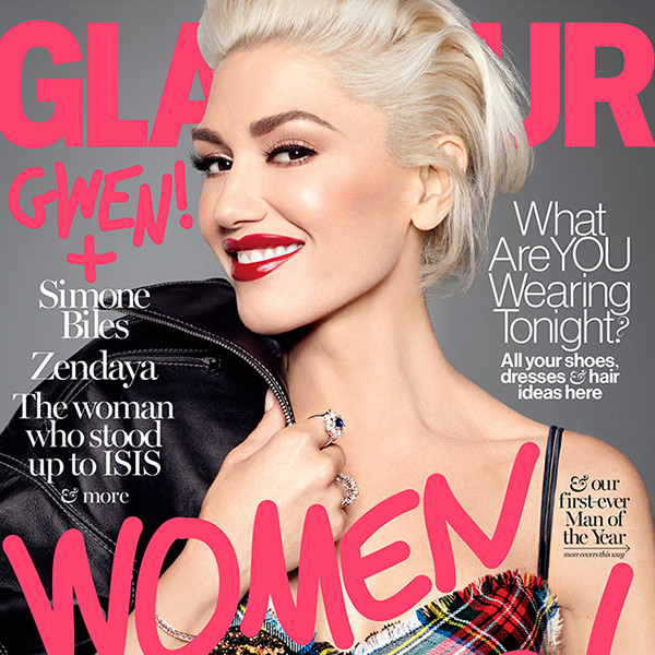 Gwen Stefani, Women of the Year, Glamour December 2016