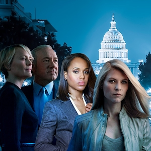 Political TV Shows, House of Cards, Homeland, Scandal