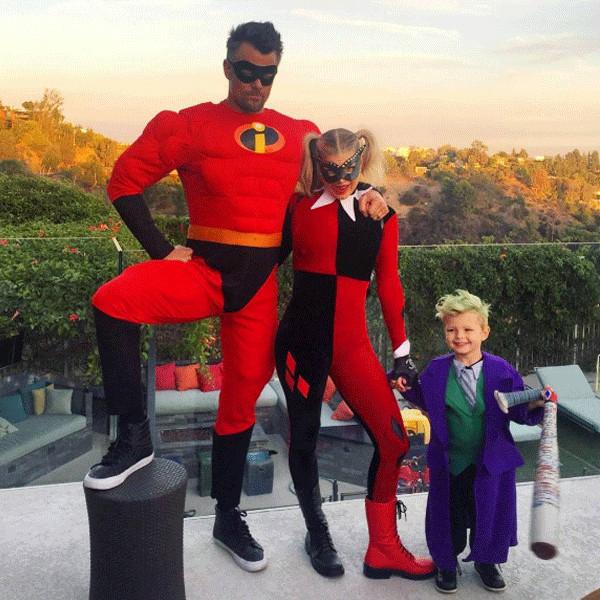 Josh Duhamel, Fergie, Halloween 2016