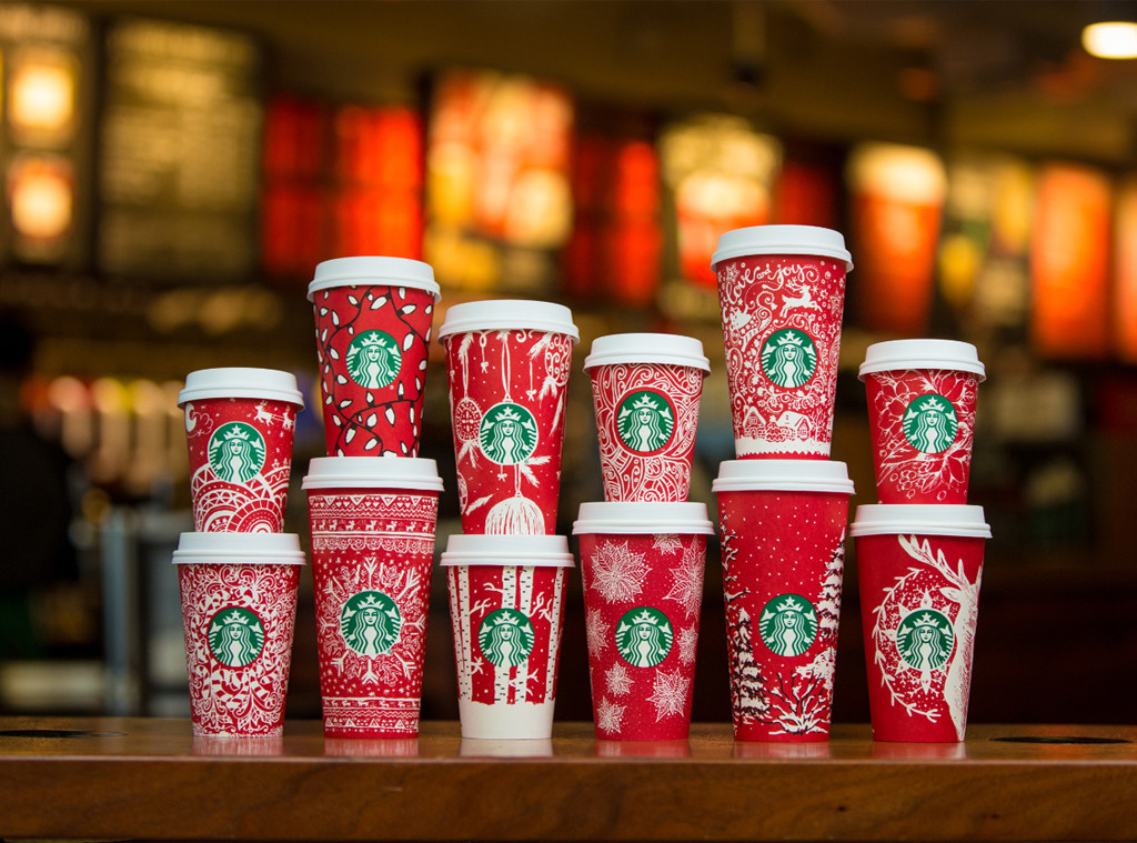 Starbucks Holiday Red Cup, 2016