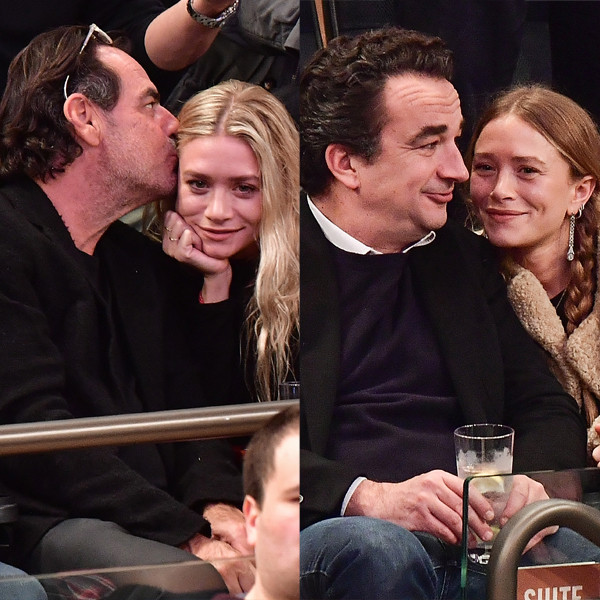 Ashley Olsen, Richard Sachs, Mary-Kate Olsen, Olivier Sarkozy