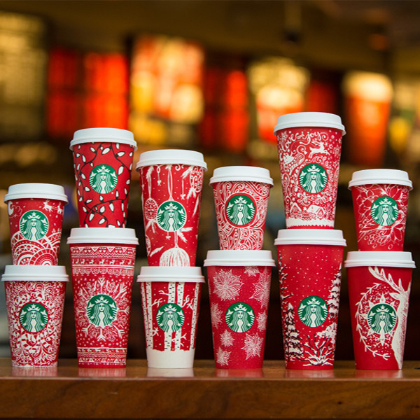 Starbucks Red Cups, 2016
