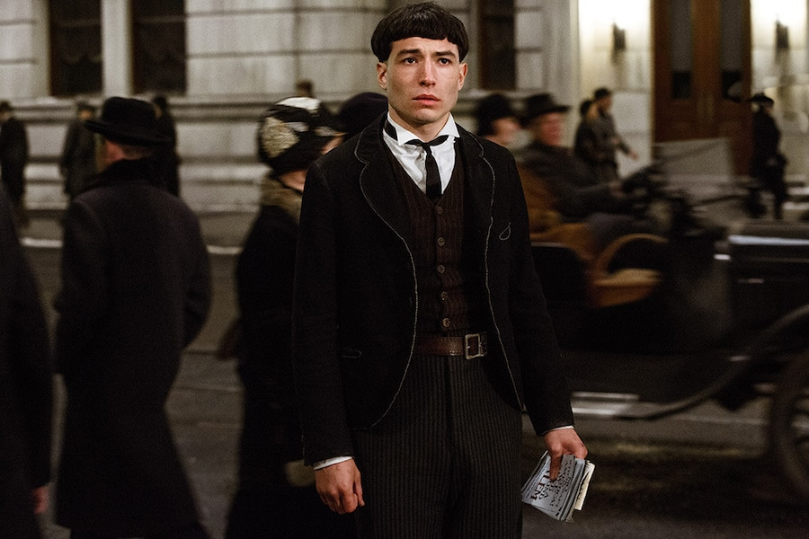 Fantastic Beasts and Where to Find Them, Ezra Miller