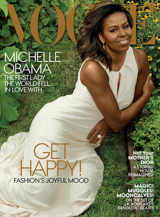 First Lady Michelle Obama, FLOTUS, First Lady, Vogue December