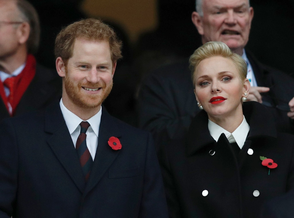 Prince Harry, Princess Charlene of Monaco