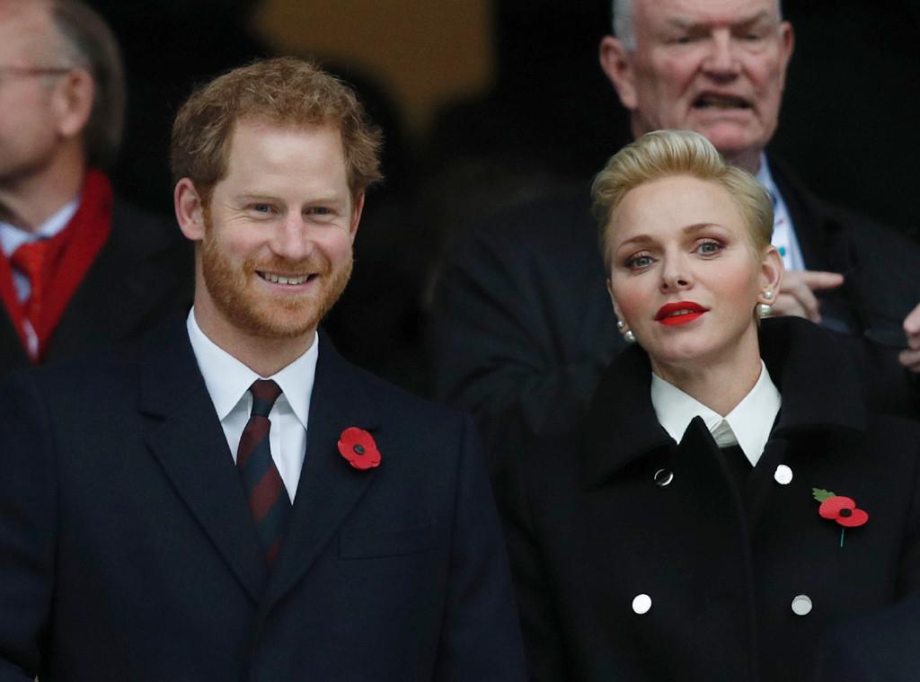 Prince Harry, Princess Charlene of Monaco