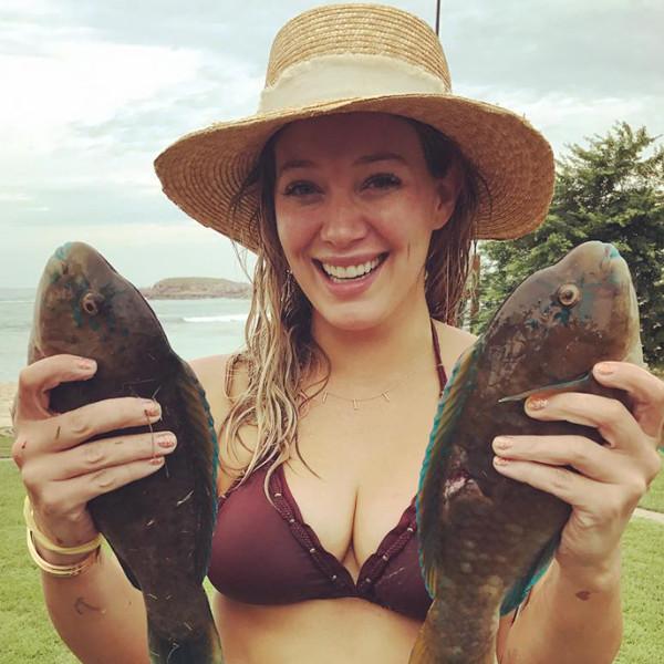 Hilary Duff, Instagram, Bikini