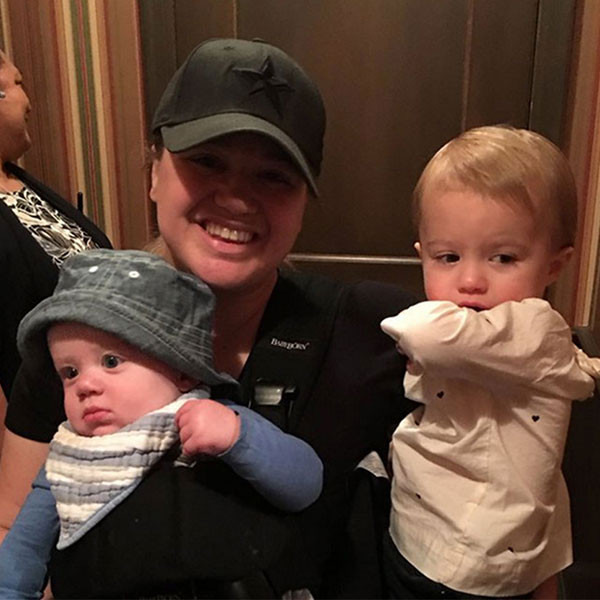 Kelly Clarkson, River Rose Blackstock, Remington Alexander Blackstock