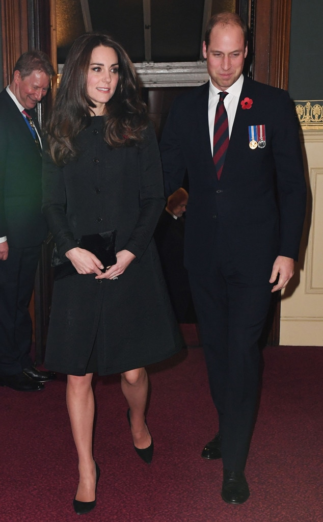 Kate Middleton, Prince William, Royal Festival of Remembrance