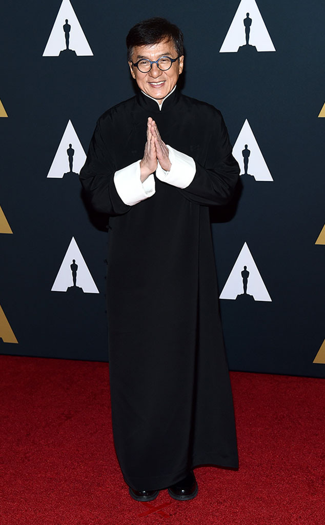 Jackie Chan, Governors Awards 2016