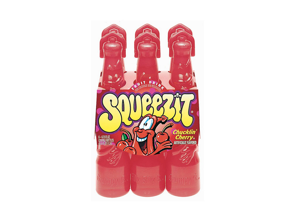 Squeezit, Discontinued Foods