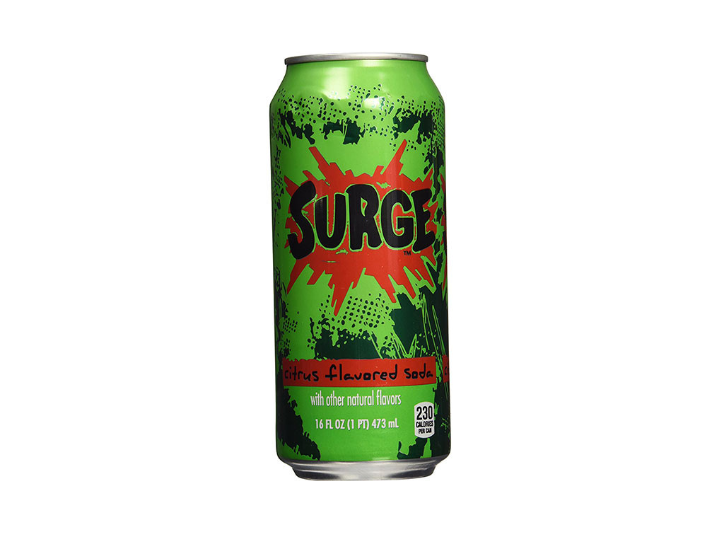 Surge, Discontinued Foods