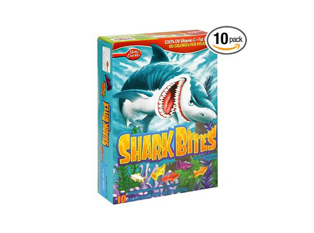 Shark Bites, Discontinued Foods