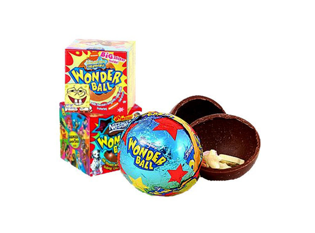Wonder Balls, Discontinued Foods