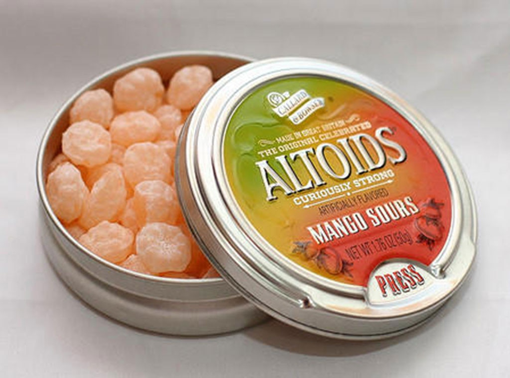Sour Altoids, Discontinued Foods