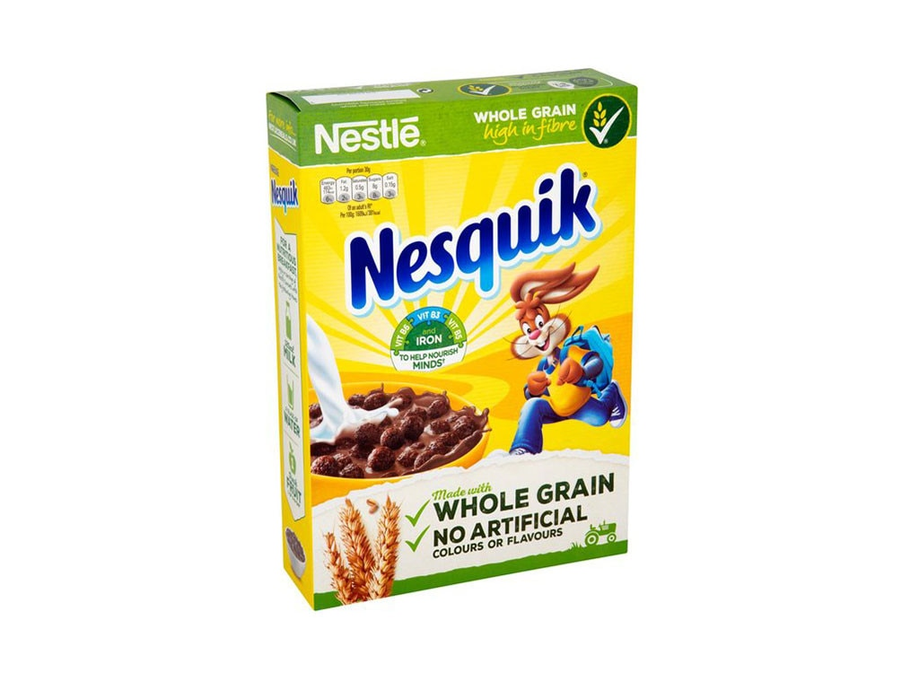 Nesquick Cereal, Discontinued Foods