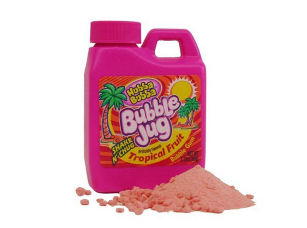 Bubble Jug, Discontinued Foods