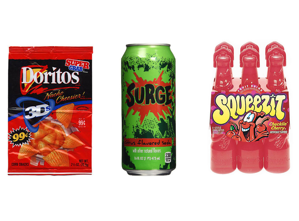 Discontinued Foods