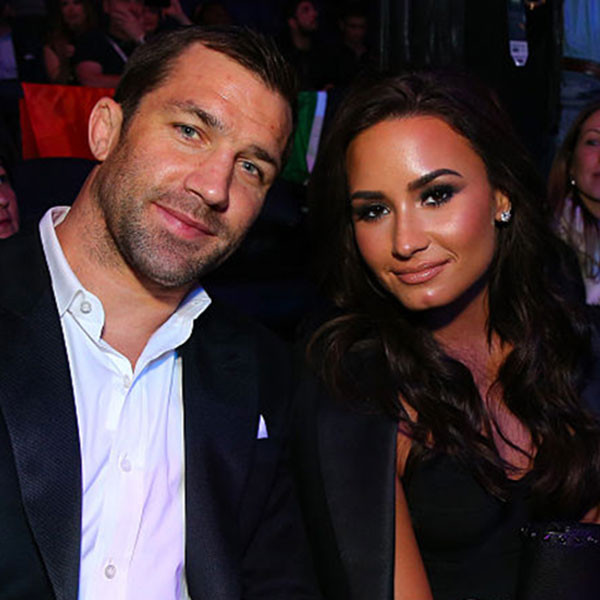 Luke Rockhold, Demi Lovato, UFC 205