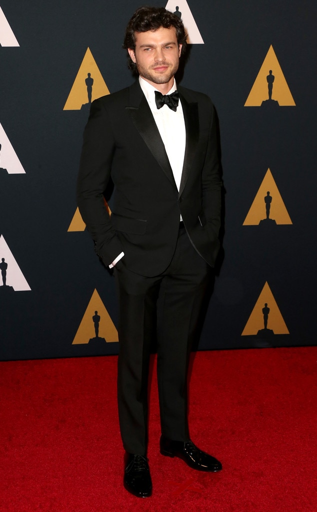 Governors Awards 2016, Alden Ehrenreich