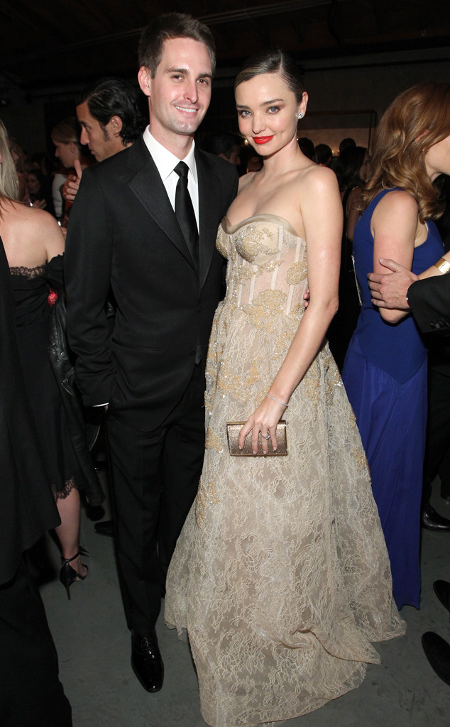 Evan Spiegel, Miranda Kerr, Baby2Baby Gala