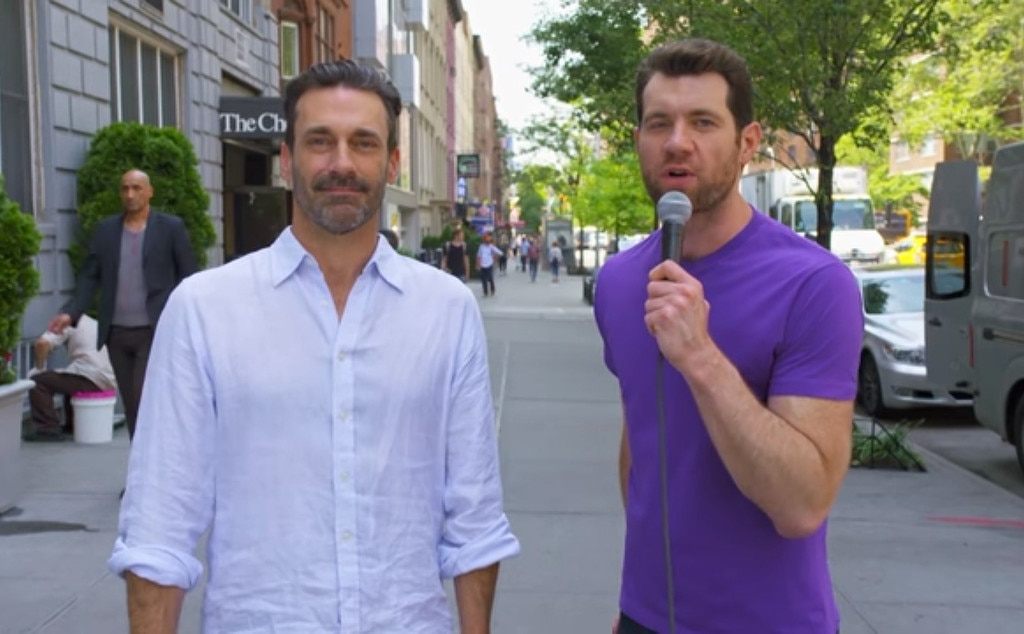 Billy Eichner, Jon Hamm, Billy on the Street