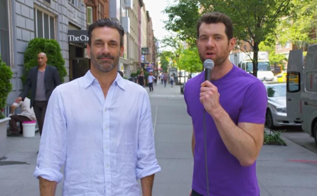 Billy Eichner, Jon Hamm, Billy on the Street