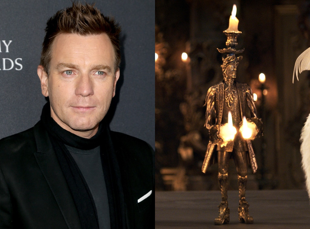 Ewan McGregor, Beauty and the Beast, Lumiere