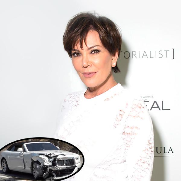Kris Jenner, Car Crash