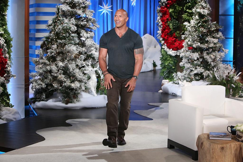 Dwayne Johnson, Ellen DeGeneres Show