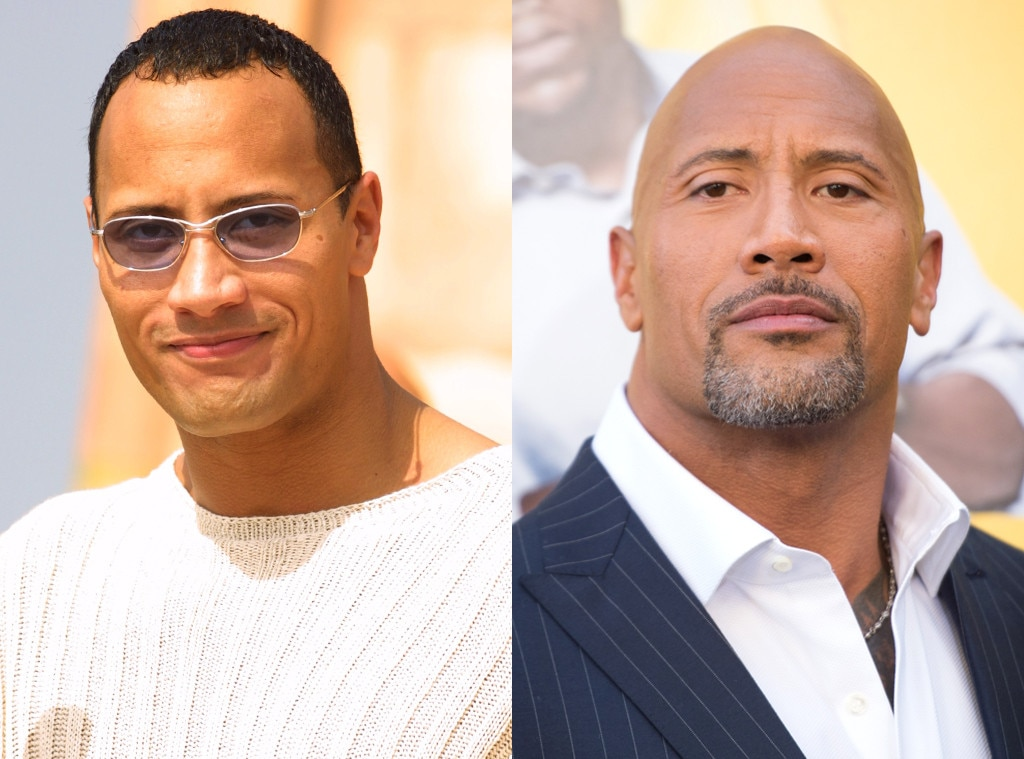 Dwayne Johnson, Hair