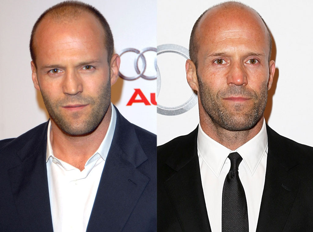 Jason Statham, Hair