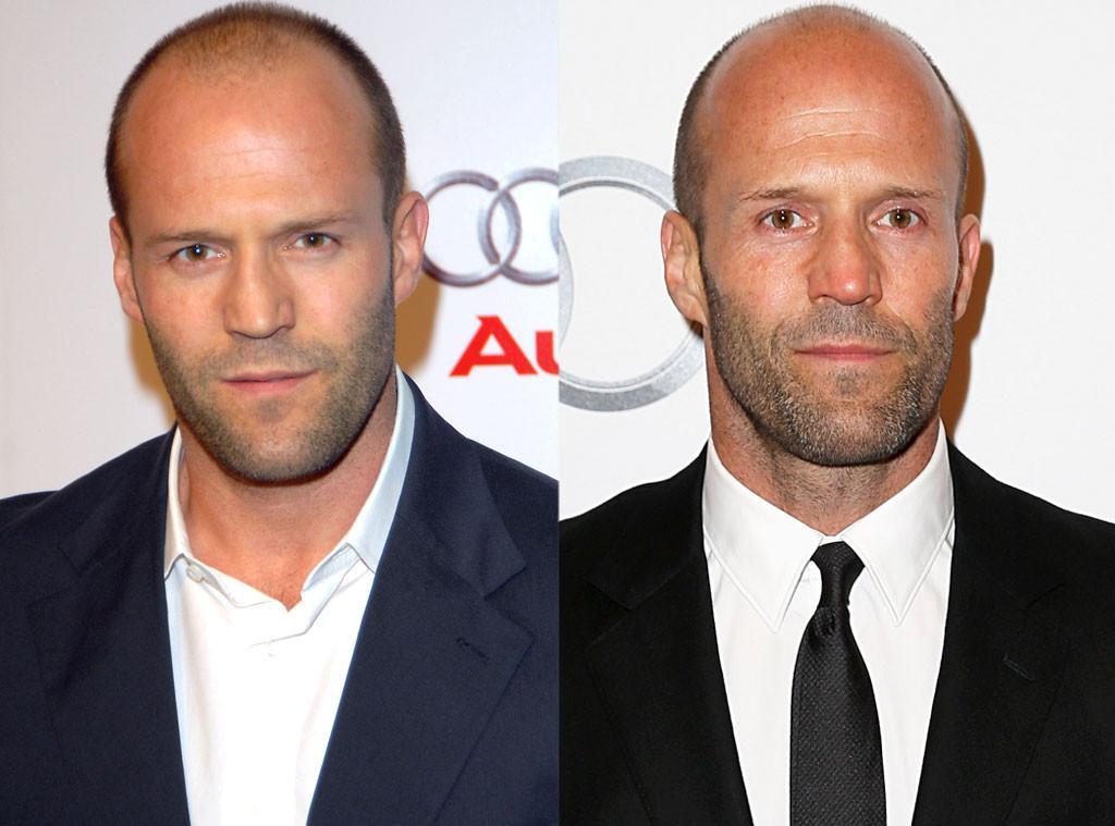 Jason Statham, Hair