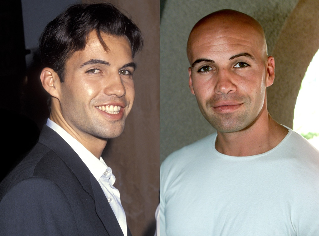 Billy Zane, Hair
