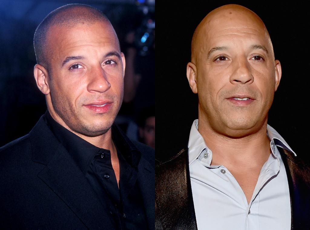 Vin Diesel, Hair