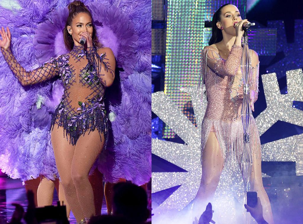 Jennifer Lopez, Katy Perry