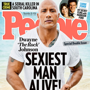Dwayne Johnson Is People's First Non-White Sexiest Man Alive in 20 Years